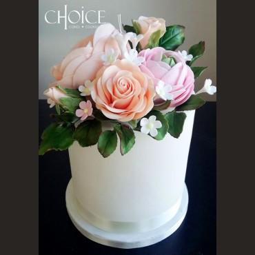 Τούρτα Μπουκέτο Λουλουδιών