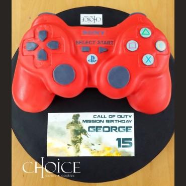Τούρτα 3D Χειριστήριο Playstation
