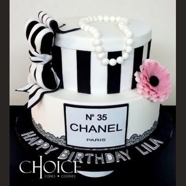 Τούρτα Chanel Κουτί Δώρου