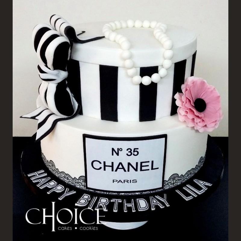 Τούρτα Chanel κουτί
