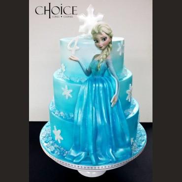 Τούρτα Elsa Frozen