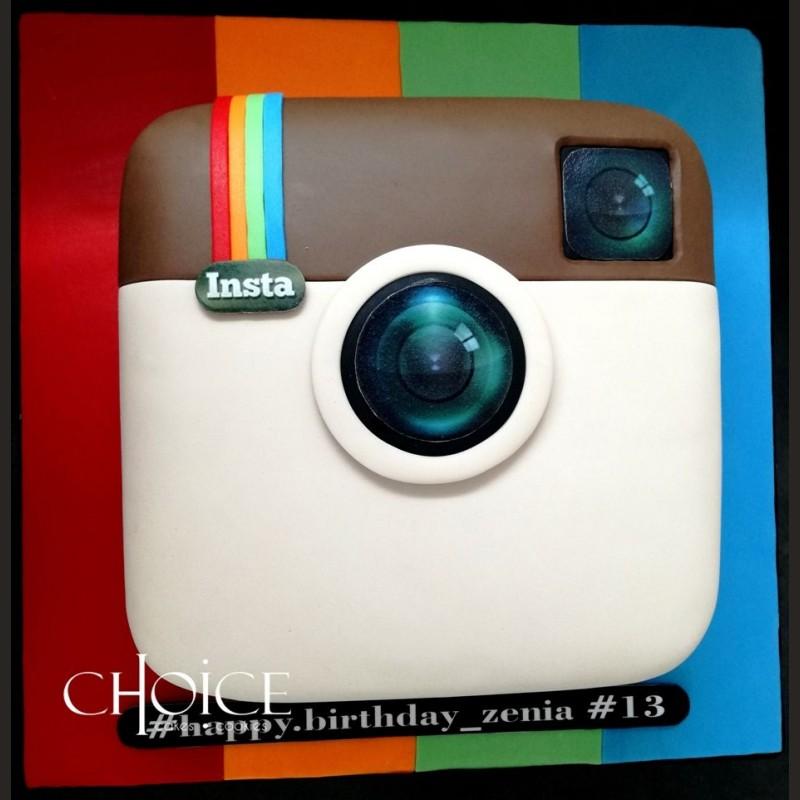 Τούρτα Instagram