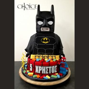 Τούρτα 3D Lego Batman