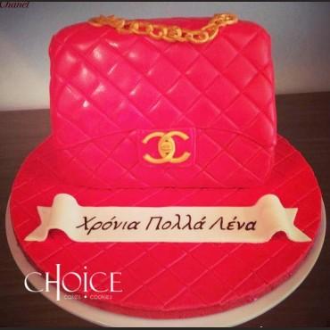 Τούρτα 3D Chanel Τσάντα