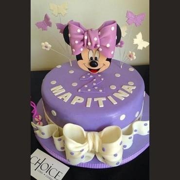 Τούρτα Minnie Mouse 3