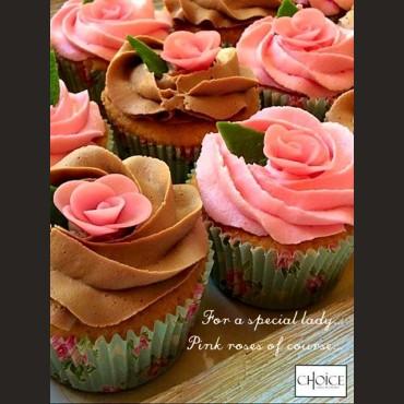 Cupcakes Τριαντάφυλλα