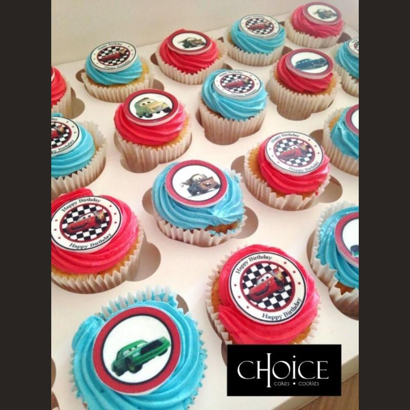 Cupcakes McQueen