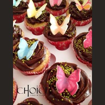 Cupcakes Πεταλούδες