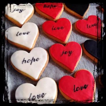 Μπισκότα Καρδιές