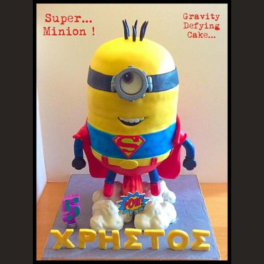 Τούρτα 3D SuperMinion Antigravity