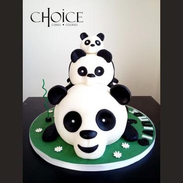 Τούρτα 3D Panda