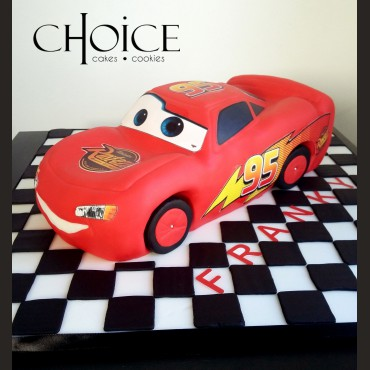 Τούρτα 3D Lightning McQueen