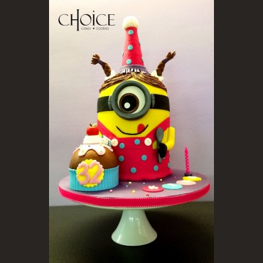 Τούρτα 3D Birthday Minion