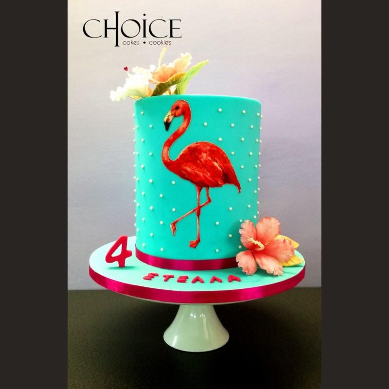 Τούρτα Flamingo 2