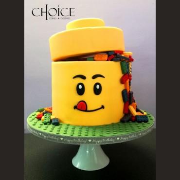 Τούρτα 3D Lego Man