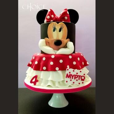 Τούρτα Minnie Mouse 2