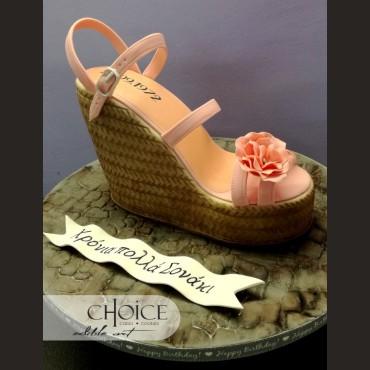 Τούρτα 3D Platform Shoe