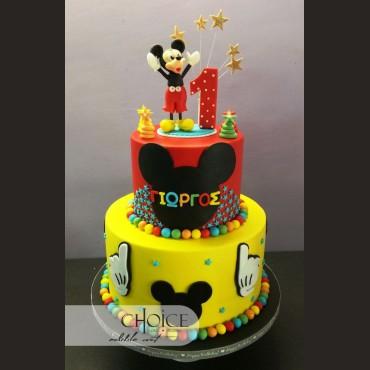 Τούρτα Mickey Mouse