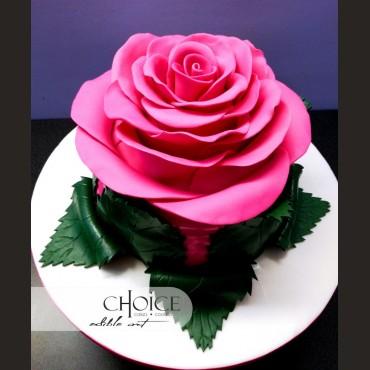 Τούρτα 3D Τριαντάφυλλο