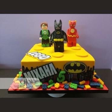 Τούρτα Lego Justice