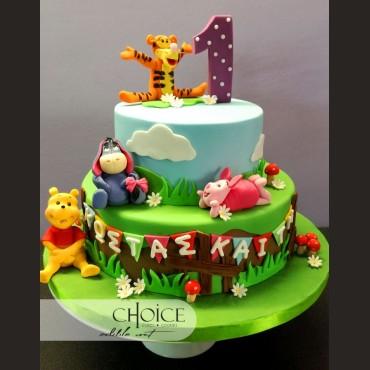 Τούρτα Winnie the Pooh & Friends