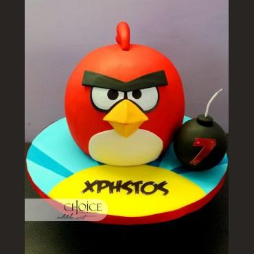 Τούρτα 3D Angry Birds