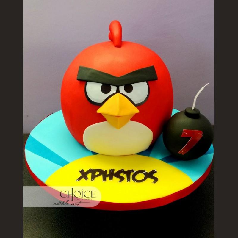 Τούρτα Angry Birds