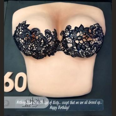Τούρτα 3D Γυναικείο Στήθος