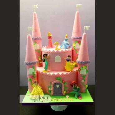 Τούρτα 3D Κάστρο, Πριγκίπισσες Disney