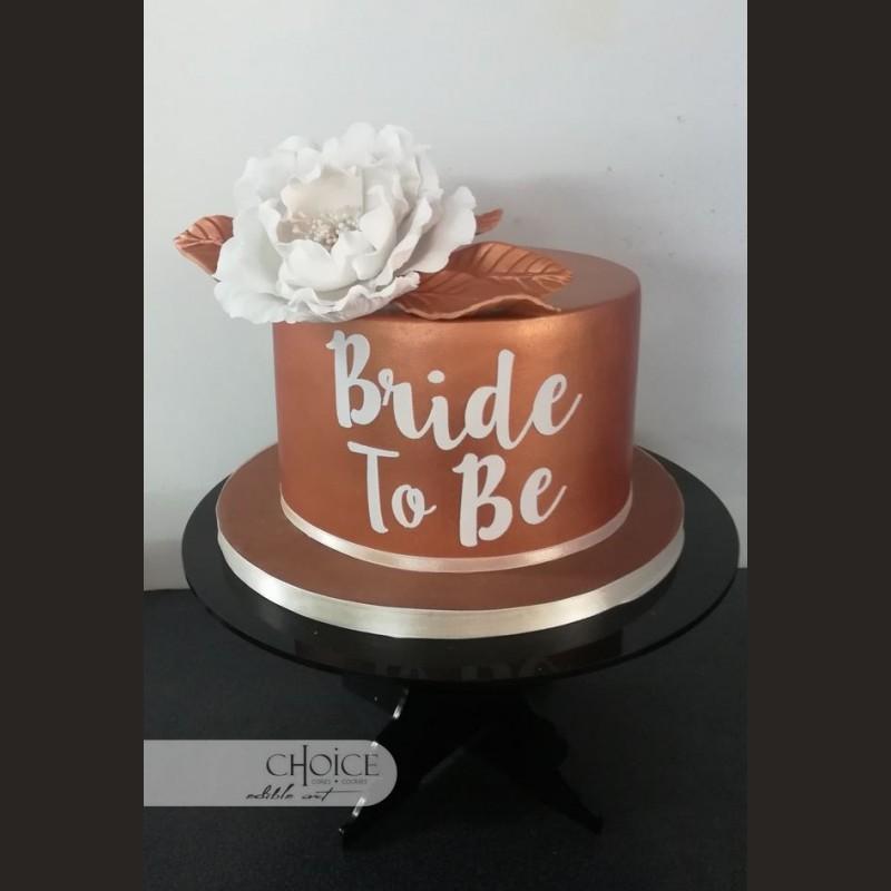 Τούρτα Bride to Be