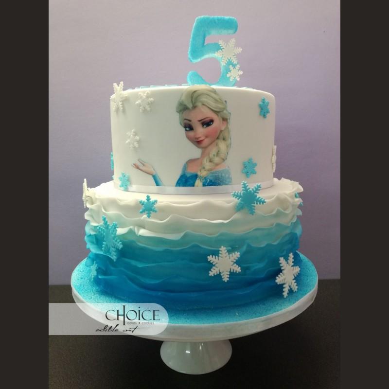 Τούρτα Elsa Frozen 2