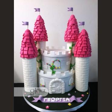 Τούρτα 3D Κάστρο
