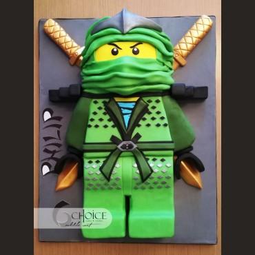 Τούρτα 3D Lego Ninjago Lloyd