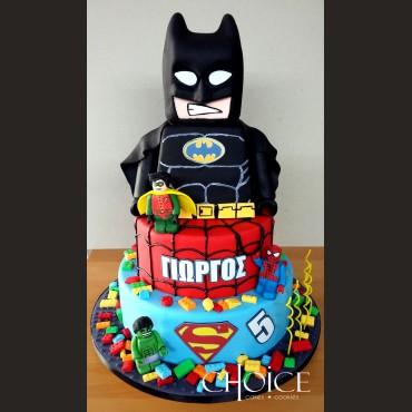 Τούρτα Lego batman